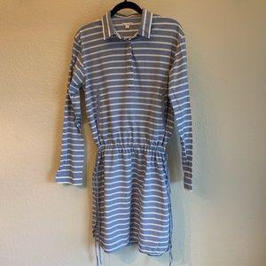 Gap Striped Tunic Dress Medium